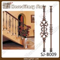 Wholesale Interior Casting Aluminum Balustrade for Stair (SJ-B009) from china suppliers