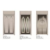 Wholesale Passenger Elevator Spare Parts SS Silver Automatic Elevator Doors Center Opening Type from china suppliers