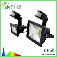 Wholesale Warm White IP65 LED Sensor Light , Led Floodlight With Pir Sensor from china suppliers