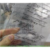 Wholesale Custom Weeding Invitation Acrylic Glow Sign Board With Silk Screen Printing from china suppliers