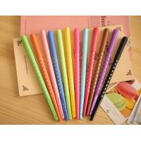 Wholesale Promotional Orange / Green / Yellow Plastic Advertising Ball Pen Heart Shape from china suppliers