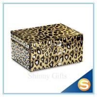 Wholesale Mirror Glass Materials Jewelry Display Box Wedding Favors from china suppliers