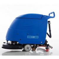 Wholesale Battery type industrial walke behind auto floor scrubber dryer D56BT from china suppliers
