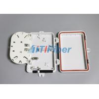 Wholesale Wall Mounted Fiber Optic Distribution Box with 4 Port SC Fiber Adapters from china suppliers