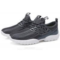 Wholesale Lace Up Mesh Fabric Comfortable Athletic Shoes Male Lightweight Breathable Sneakers from china suppliers