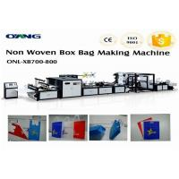 Wholesale High Efficiency Non Woven Bag Making Machine , Carry Bag Manufacturing Machine from china suppliers