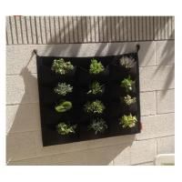 Wholesale high quality Wholesale vertical garden hanging wall felt grow bags from china suppliers
