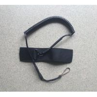 Wholesale China factory customized made single swivel/snap hook/mini ring tactical pistol lanyard from china suppliers