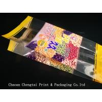 Wholesale Large Capacity Plastic Pouch Bag Side Gusset For Snack Stick / Rice Stick Food from china suppliers