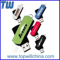 Wholesale Plastic with Twisted Metal 8GB 16GB Usb Flash Memory from china suppliers