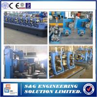 Quality Automated Roll Forming Mill Ss Pipe Welding Machine 100 ~ 400mm Steel Coil Width for sale