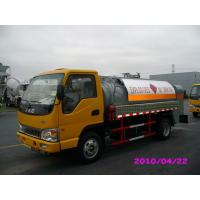 Wholesale 4000L 4x2 JAC chassis (115HP) Mobile Refueling truck for Light Gasoline Delivery from china suppliers