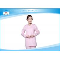 Wholesale Hospital White Cute Unisex Surgical Nursing Scrub Tops And Pants Sets from china suppliers