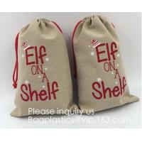 China Gift Bag Jute Packing Storage Linen Jewelry Pouches Sacks for Wedding Party Shower Birthday Christmas Jewelry DIY Craft on sale