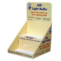 Buy cheap Promotional Simple Pdq Retail Counter Display Stands For Led Light Bulbs from wholesalers