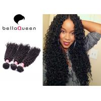 Wholesale Double Drawn Virgin Curly Mongolian Hair Extensions 100% Human Hair Weaving from china suppliers