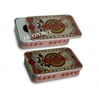 Wholesale Pink Candy Mint Tablets Small Tin Boxes 83 x 62 x 16 mm ISO9001 2008 Approved from china suppliers