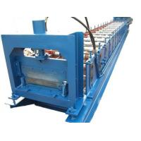 Quality 1.2mm Thickness Anode plate Cold Roll Forming Machine PLC control with Punching System for sale