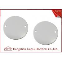 Wholesale 65mm Steel Junction Box Cover C/W Screw PVC Conduit and Fittings For A B C Grade from china suppliers