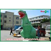 Quality 3D Model Inflatable Cartoon Characters Jurassic Park Inflatable Giant Dinosaur for sale
