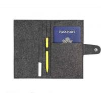 Wholesale high quality customzied card holder Eco felt credit card bag factory from china suppliers