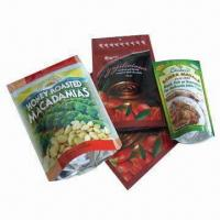 Quality Aluminum Foil Bags, Clear or with Color Printing for sale