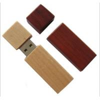 Wholesale LOGO Customized USB Stick Gift Wooden Material 2GB - 32GB Various Color from china suppliers