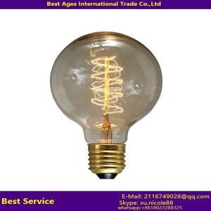 Wholesale Vintage Filament Edison Bulb 40W 60W E27 E26 B22 E14 from china suppliers