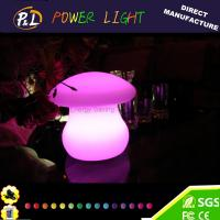 Quality Beautiful Color Flashing Decorative Mushroom led Desk Lamp for sale