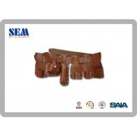 Wholesale Scaffold Accessories Tool Belt With Cow Leather 6pcs Holders ,Steel Roller Buckle from china suppliers