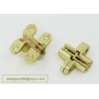 Wholesale Made In china Excellent Quality 180 Degree 44 mm Zinc Alloy Firm Furniture Wooden Box Hidden Hinge from china suppliers