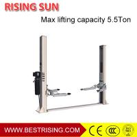 Buy cheap Double cylinder hydraulic design car repair used double post car lift from wholesalers