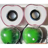 Wholesale Digital Audio Tiny Computer Speakers 2.0 Simple With USB Plastic Apple Shape from china suppliers