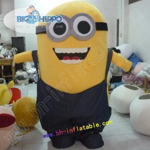 Quality minion mascot costume for sale