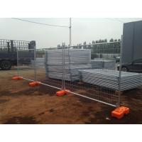 Wholesale temporary fencing brisbane for sale ,temp fence panels cost made in china 2100mm x 2400mm ,panels clips ,base foot brace from china suppliers