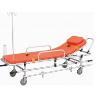 Buy cheap Rescue Safety EMS Aluminum Alloy Automatic Loading Ambulance Stretcher with Wheels from wholesalers