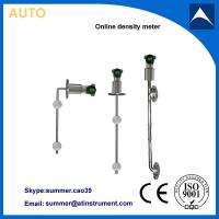 Wholesale industry inline density meter used in SNCR DeNOx system from china suppliers