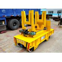 Quality Turning rail ladle transfer bogie with LED display automatic control for sale