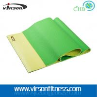 Wholesale Virson double layer colour eco-friendly PVC material yoga mat from china suppliers
