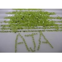 Wholesale 2mm Green Peridot Loose Gemstones Round Untreated With Peridot Earings from china suppliers