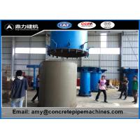 Wholesale Multi Functional Vertical Pipe Moulding Machine , Rcc Pipe Making Machine Cast Steel from china suppliers