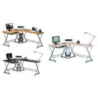 Wholesale Steel Wooden Office Computer Desks L Cornor For Executive Working DX-402 from china suppliers
