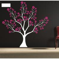 Wholesale Designer Personalised Star Tree Wall Flower Stickers G063 from china suppliers