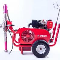 Wholesale Multiple Gun Diesel 9 HP Airless Paint Sprayer PT980 With Hydraulic Pump from china suppliers
