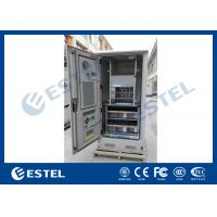Wholesale Stainless Steel Waterproof Outdoor Power Cabinet With Battery / Equipment Compartment from china suppliers