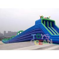 Wholesale Large Hippo Inflatable Water Slide With 4 Lanes Slip N Slide For Adult Commercial Event from china suppliers