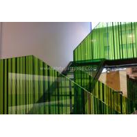 Wholesale Monolithic Building Decoration Silk Screen Ceramic Printed Glass Partition 10mm 12mm from china suppliers