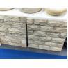 Buy cheap Beige Travertine Mushroom Stone,Yellow Stone Wall Cladding,Pillar Wall Tiles from wholesalers