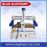 Wholesale BLUE ELEPHANT CNC Machine Price List Multi-purpose CNC Wood Engraving Machinery 1122 with Rotary Device on the Table Sur from china suppliers
