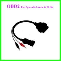 Wholesale Fiat 3pin Alfa Lancia to 16 Pin Diagnostic Cable from china suppliers